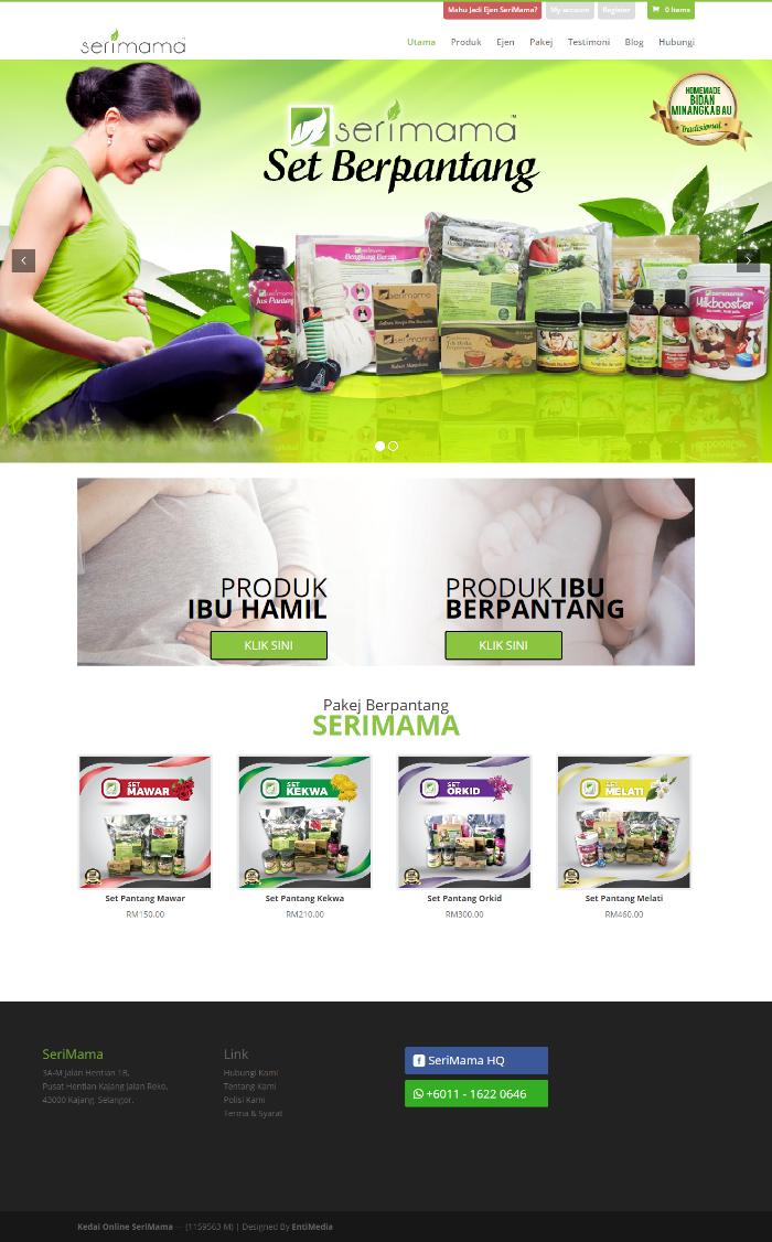 homepage serimama