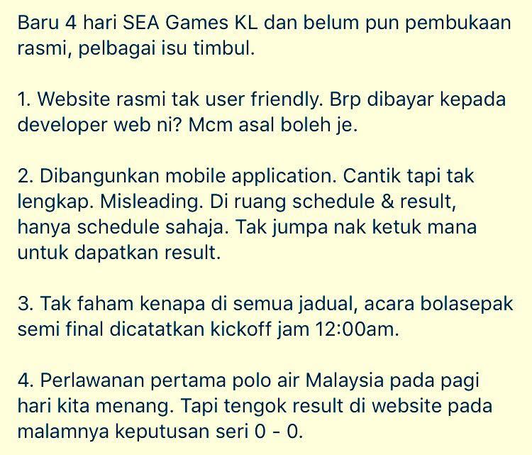 isu website sukan sea kl- 2017